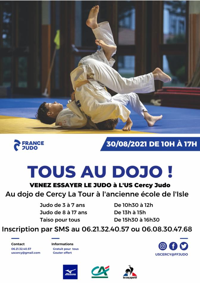 Image de l'actu 'Journée essai du judo'