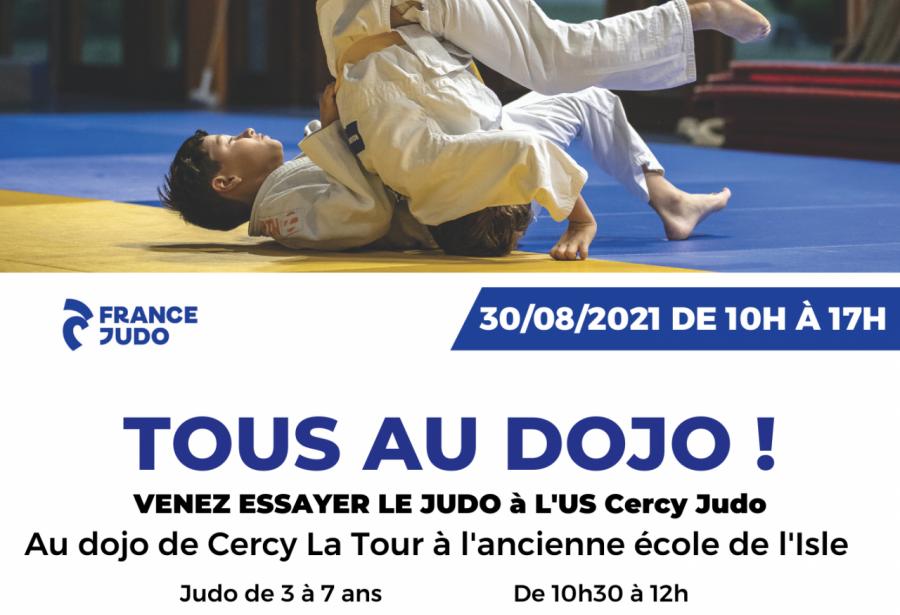 Journée essai du judo